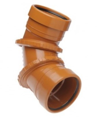 Drainage 0-90D Adjustable Bend Double Socket