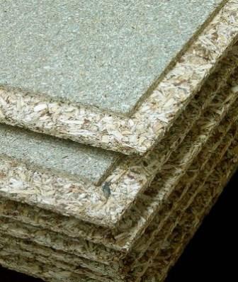 Green Chipboard Flooring