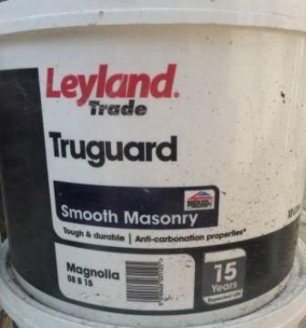 Pb Materials Leyland Trade Truguard Smooth Masonry