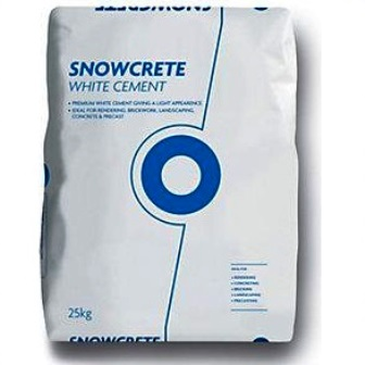 Snowcrete White