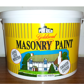 masonry paint white